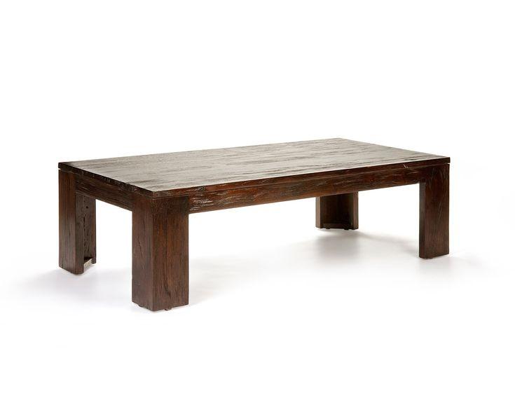 Dark Wood Coffee Table Reclaimed Teak Coffee Tables