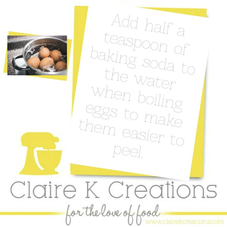 Tip to peel your boiled egg easy-breezy. #tip #cooking #egg #foodblogger #clairekcreations #hacks