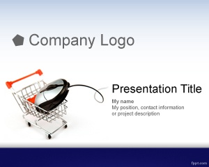 well as e-commerce software or products. E-commerce template for PowerPoint is a great background for business presentations that can be used for B2C or B2B presentations. Free e-commerce PowerPoint template can easily be adapted to use your own content or e-commerce websites. The template can also be used for e-commerce hosting companies who need to create presentations about their hosting plans for e-commerce.