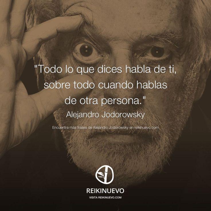 Alejandro Jodorowsky: Todo lo que dices http://reikinuevo.com/alejandro-jodorowsky-todo-lo-que-dices/