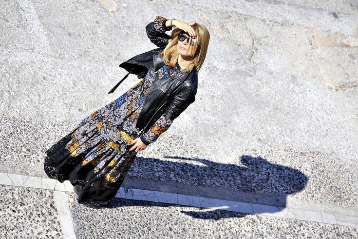 Just An Ordinary Day- Maria Iliaki in Amarisso New York dress.