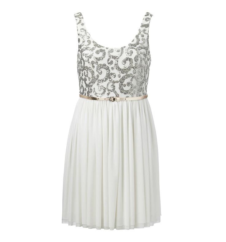 Renae renaissance mesh skirt dress - Forever New