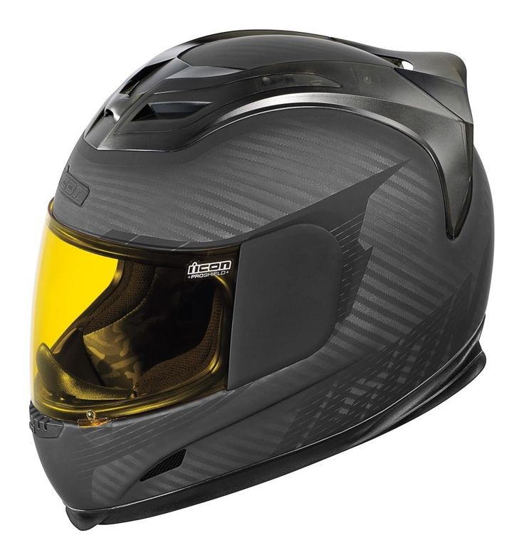 2015 Icon Airframe Ghost Carbon Street DOT Cycle Protector Motorcycle Helmets