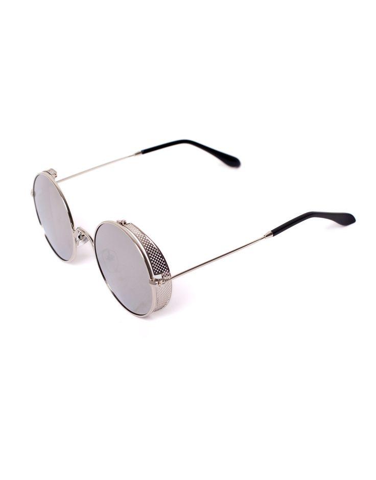 Eighty6 Skinny Silver Sunglasses