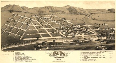 This baby girl was named Salida (sa-LYE-da) after the Colorado town where she was born in 1881, but she never received the free plot of town land she was promised...
