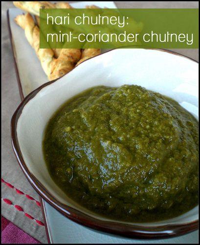 Hari Chutney (mint corriander chuttney) by hookedonheat, via Flickr