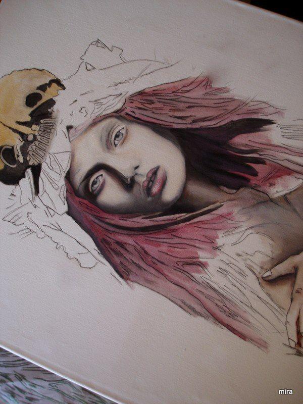 oil painting in progress