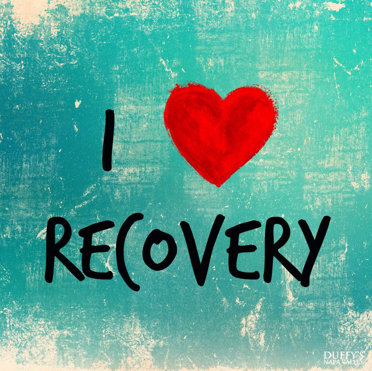 I love recovery! September is National Recovery Month!
