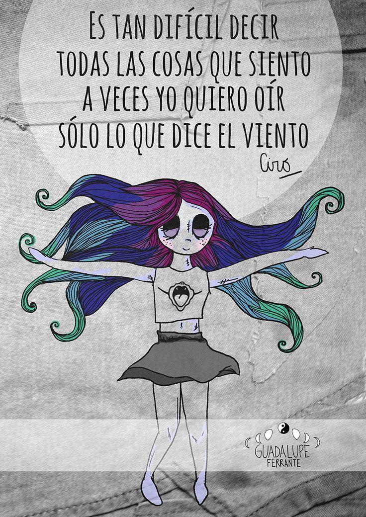 #ciro #lospiojos #music #rollinga  #Girl #lovely #Art #Creative #Illustration #Artists #Quotes www.facebook.com/GuadalupeFerranteArt