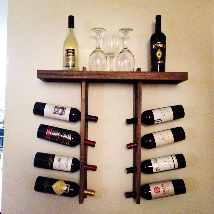 38 best Wall Hanging Wine Racks images on Pinterest ...