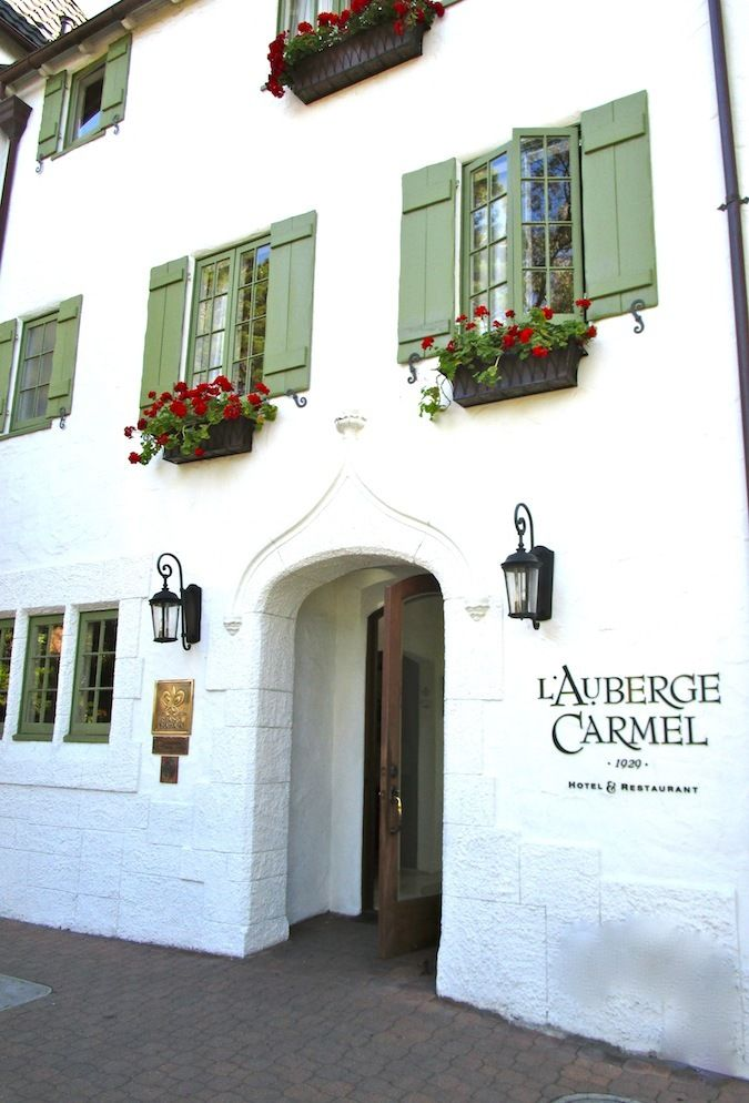 """This installment of """"Glamorous Getaways"""" features the European-inspired L'Auberge Carmel hotel in Carmel-by-the-Sea, California and it's Forbes Five Star-rated restaurant, Aubergine!"""