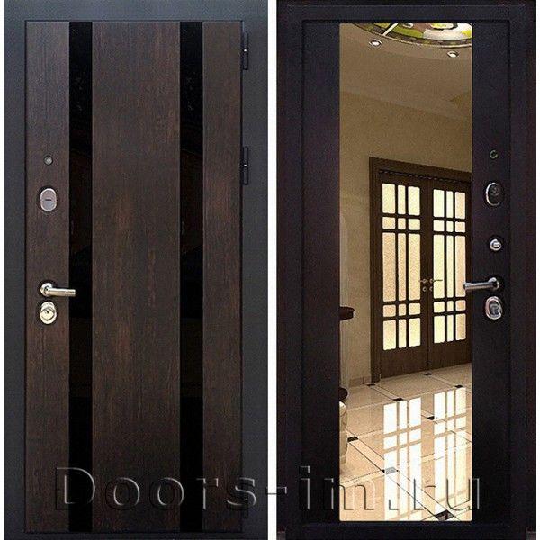 Входная металлическая дверь Зетта Премьер 3КБ1 (тиковое дерево)
