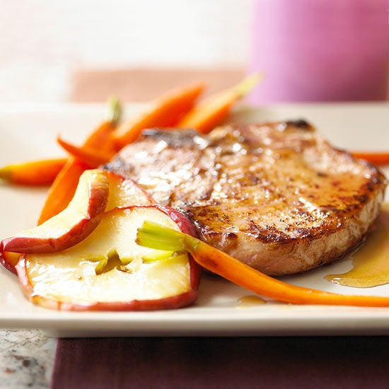 Pork chops are a dinnertime staple. They're quick and easy to fix, and they pair well with a variety of foods and flavors. You can enjoy them year-round -- pan-fry or oven-fry them for a hearty fall or winter meal, or do a quick saute for a no-fuss summer dinner. Here are three simple ways to prepare them.