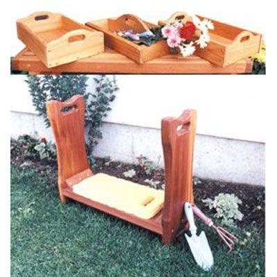 Kneeling Bench Woodworking Plan | Woodworking Plans