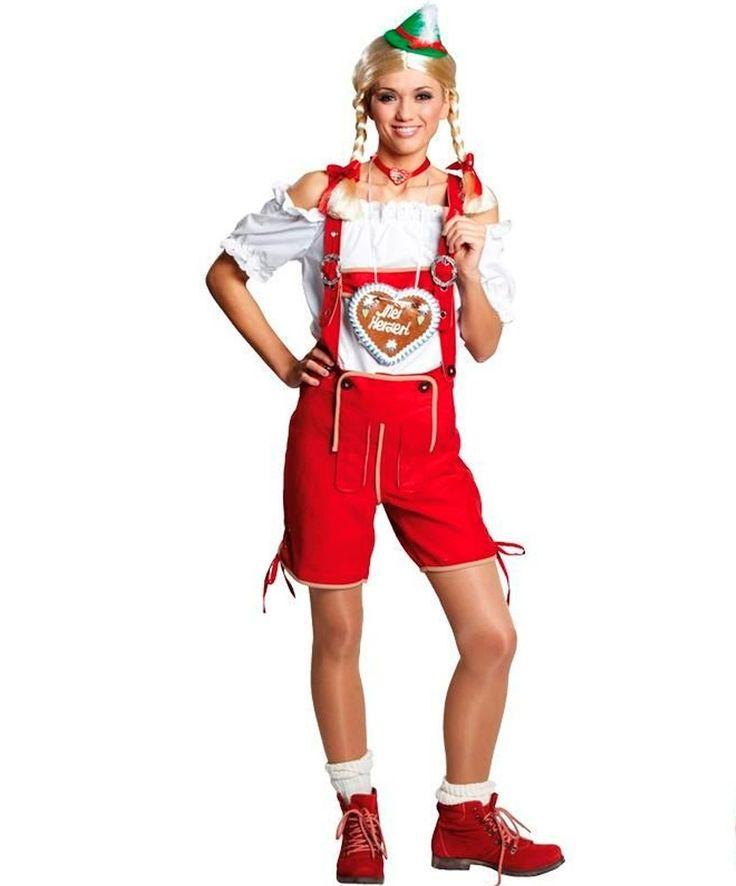Собираетесь на веселое празднование в стиле Октоберфест? А традиционные платья Вас не впечатляют? Красные шорты для костюма баварки на празднование Октоберфест. Дополните их белой блузкой. И не забудьте очаровательную улыбку. Ссылка на карточку товара — http://fas.st/MjszR