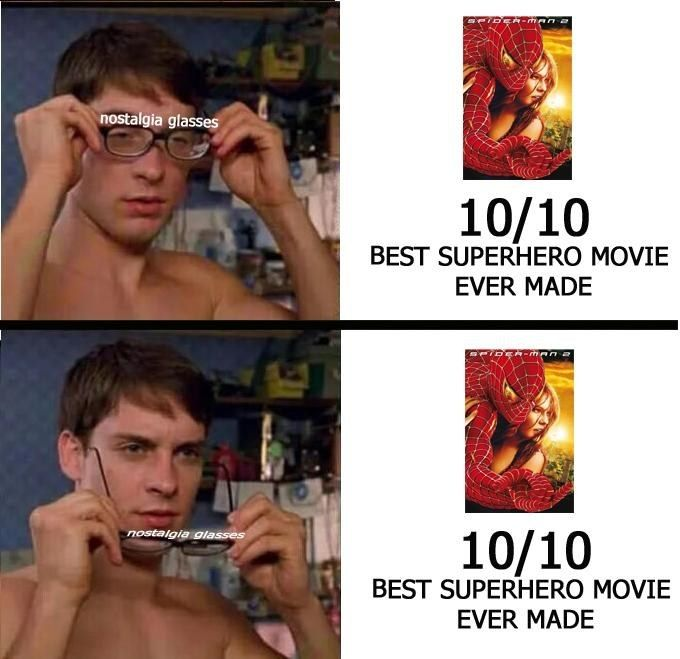 29 Memes For Anyone Who Grew Up With Tobey Maguire S Spider Man Spiderman Funny Best Superhero Movies Man Thing Marvel