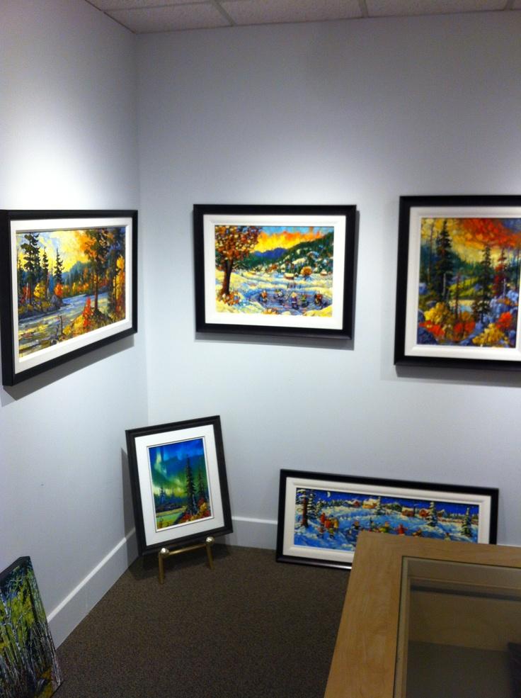 Rod Charlesworth paintings! #canadianart
