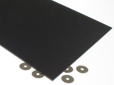 Matte Black Acrylic Sheet