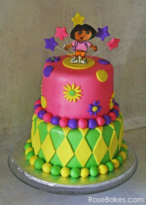 Cake Design Dora L Exploratrice : 102 best DORA images on Pinterest Jello shot cups ...