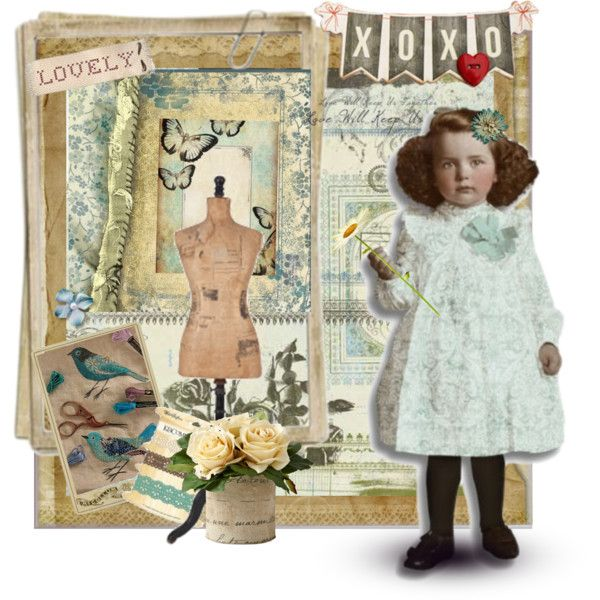 Girl by pyonn on Polyvore featuring art