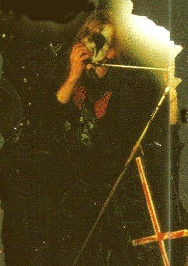 """Per """"Dead"""" Ohlin, Mayhem's   vocalist was born on January 16, 1969, Västerhaninge, Sweden."""
