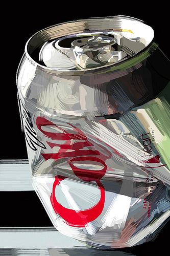 iphone still-life painting - image - Susan Murtaugh - would do with yr 10-11