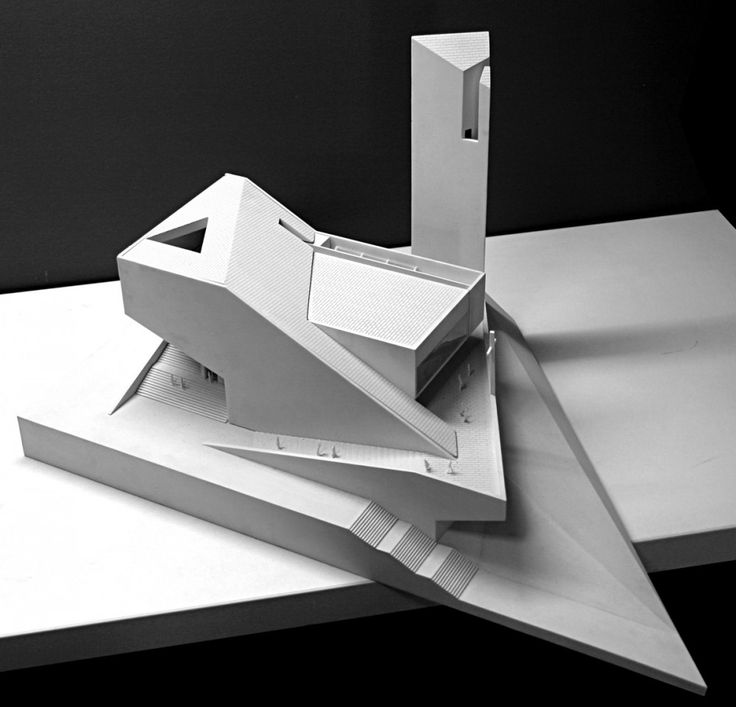 architectural model of Pan Long Gu Church / Atelier 11