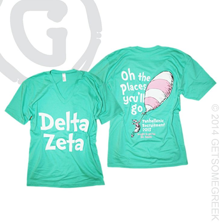 Delta Zeta Greek Letter Shirt- Available for LARGE GROUP orders ACyF9Mm