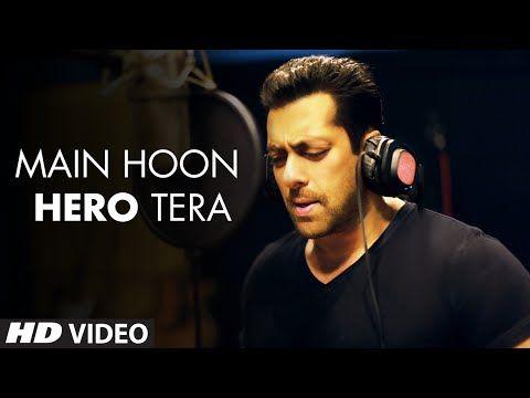 'Main Hoon Hero Tera' VIDEO Song - Salman Khan | Hero | T-Series - Bu adam hiçbir şey yapmasa da etkiliyor beni. ♡