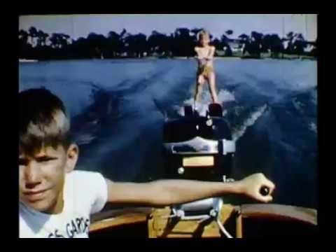 Vintage Florida Waterskiing Video
