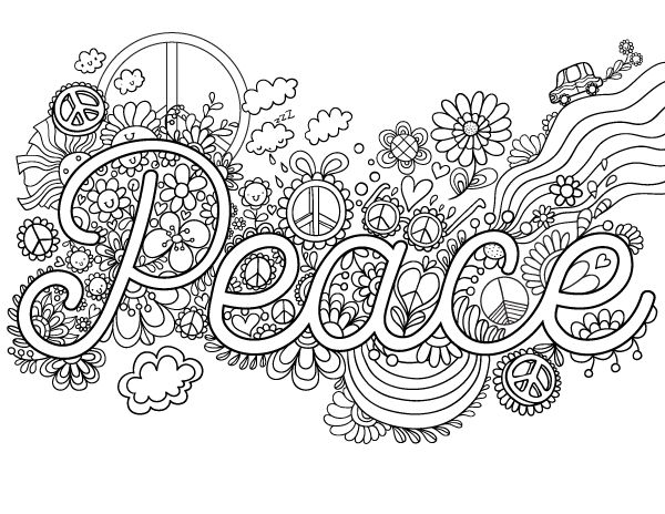 free printable peace adult coloring page download it in pdf format at httpcoloringgardencomdownloadpeace coloring page adult coloring pages at