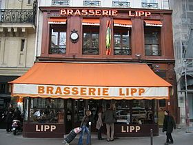 I want to visit the Brasserie Lipp in Paris to try a Dita Von Teese favorite: oeuf a la neige (or Floating Island)