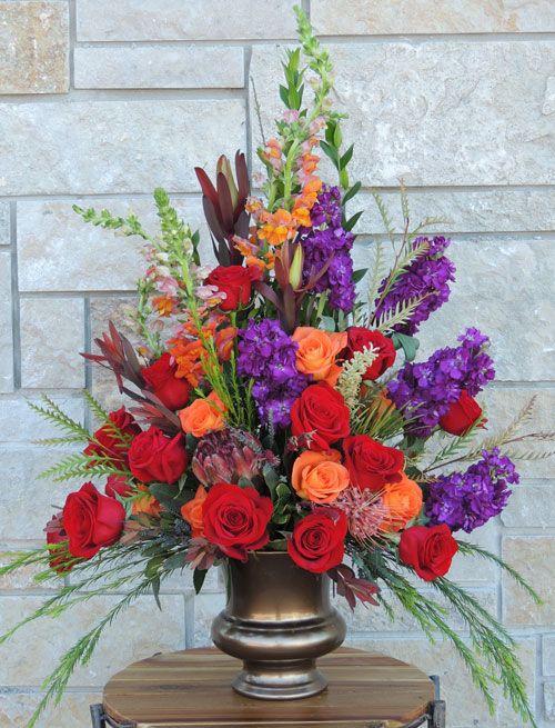 Sympathy Flowers Funeral flowers Rhinelander, WI florist www.trigsfloral.com