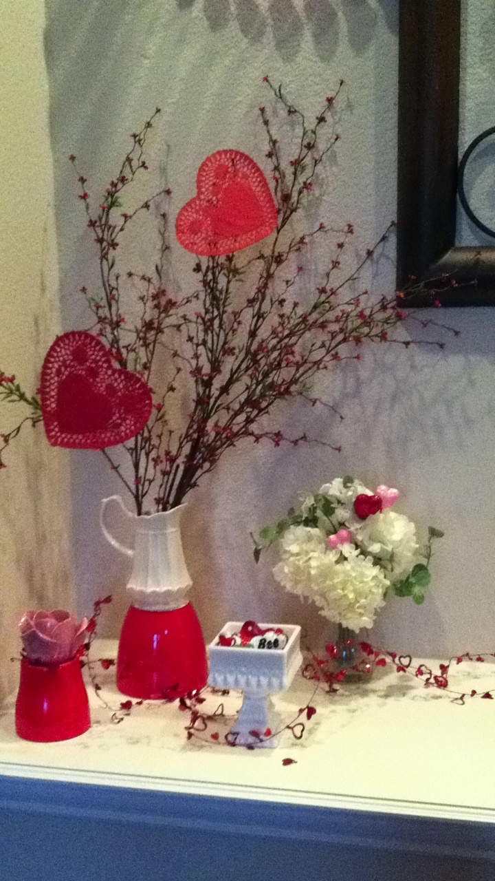 Valentines Decor V Day Pinterest