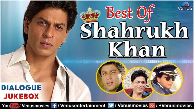 Best Of SHAH RUKH KHAN : Superhit Bollywood Hindi Dialogues   Video Juke...