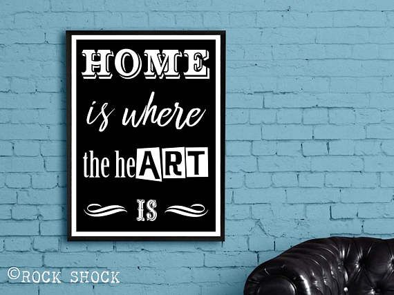 'Home is where the heART is' Check out this item in my Etsy shop https://www.etsy.com/uk/listing/507819398/home-is-where-the-heart-is-funny-home #homeiswheretheheartis #homedecor #homedecoration #artdecoration #artist #artquote #artslogan #artistroom #artisthome #artistquotes #homequotes
