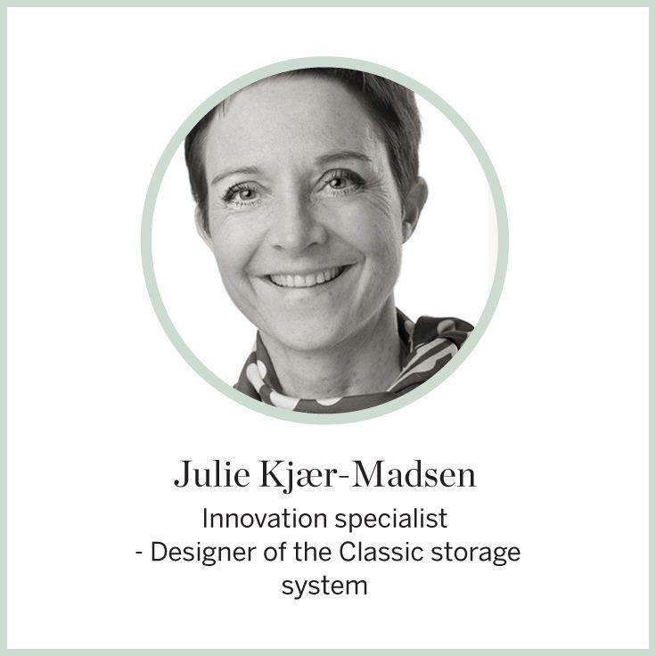 Designer Julie Kjaer-Madsen #FLEXA #Designers #ClassicStorage #storage #Classic  #art #kids