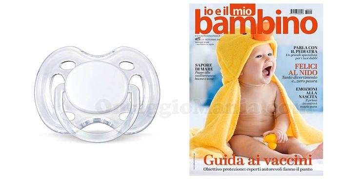 Succhietto Philips Avent omaggio con Io e il mio bambino - http://www.omaggiomania.com/omaggi-nelle-riviste/succhietto-philips-avent-omaggio-io-e-il-mio-bambino-settembre-2017/