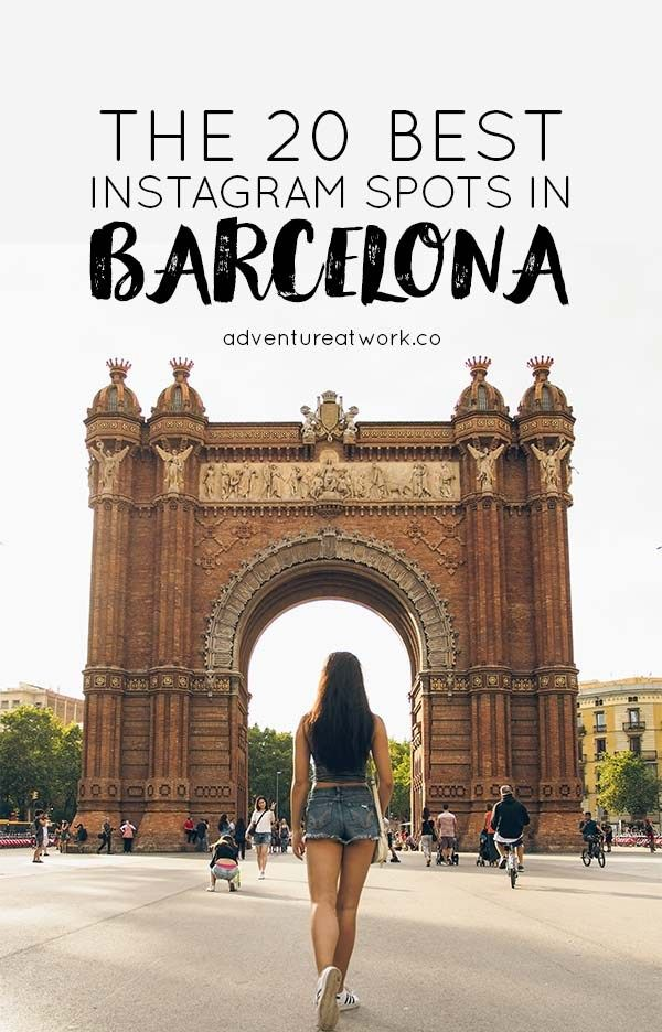The 20 Best Instagram Spots In Barcelona With Images Barcelona