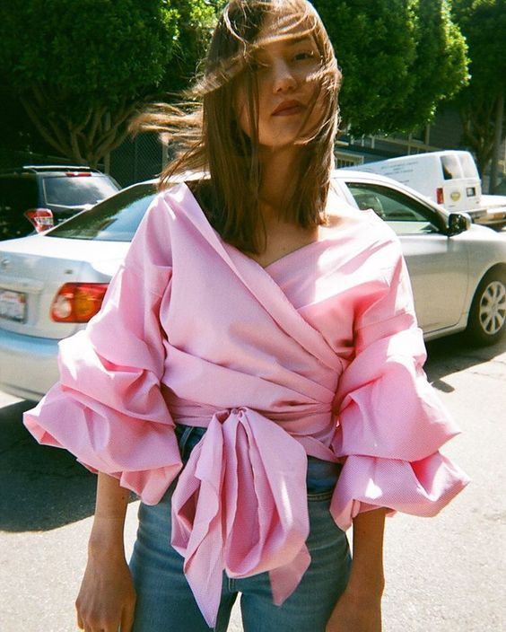 If there's one brand getting a lot of air time on Instagram right now, it's Storets – the US label is known for replicating high-end looks at affordable prices, with oversized sleeves, decadent ruffles and statement shirting signatures of the brand. Case in point, the ruched Vivian blouse, which has already been snapped up by bloggers Tash Sefton and Collage Vintage, and is now shoppable from a host of UK labels too, with everyone from Zara to New Look getting in on the action.