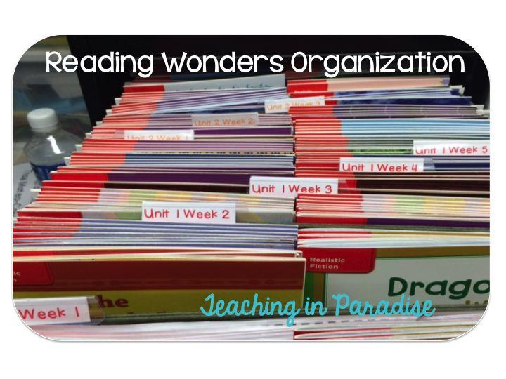 Teaching in Paradise: Reading Wonders Organization