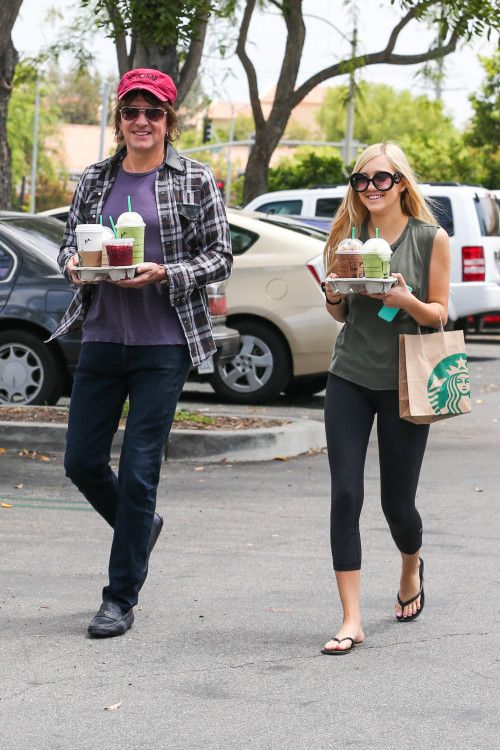 Richie Sambora & Ava: Coffee In Calabasas