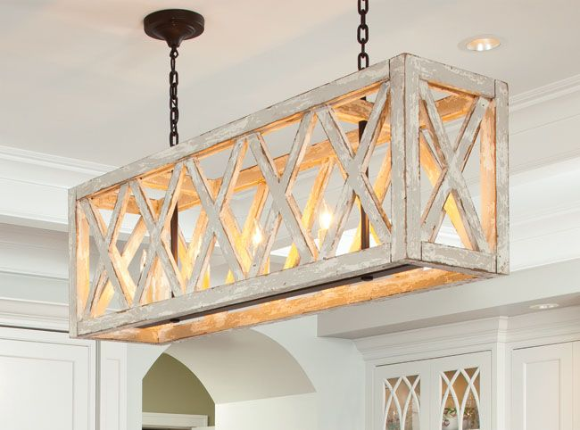 Rectangular light fixtures for