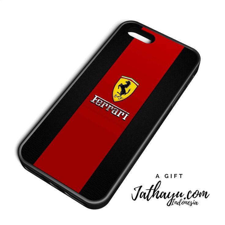 Custom case premium all iphone   ferrari brand logo