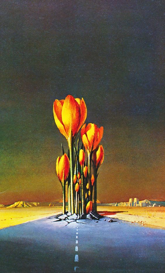 """martinlkennedy: """" Bruce Pennington - We will Arise from the book The Flights of Icarus (1977) by Donald Lehmkuhl with Martyn and Roger Dean """""""