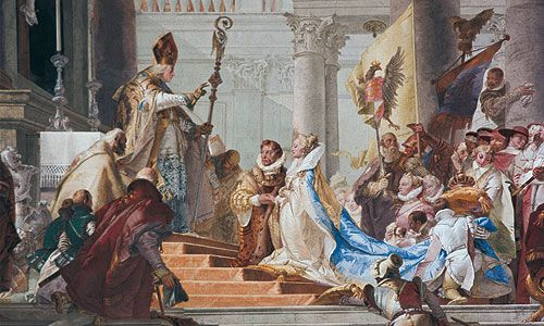 Marriage of Frederick Barbarossa and Beatrice of Burgundy