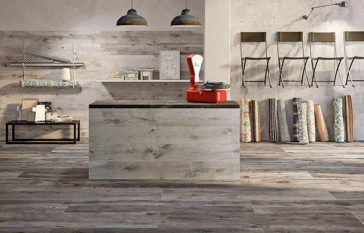 Flaviker Dakota Tortora rectified 20x80 cm DK2823R Tiles Ceramic Wood Italian…