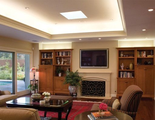 family room lighting ideas. traditional family room by hartmanbaldwin designbuild lighting ideas