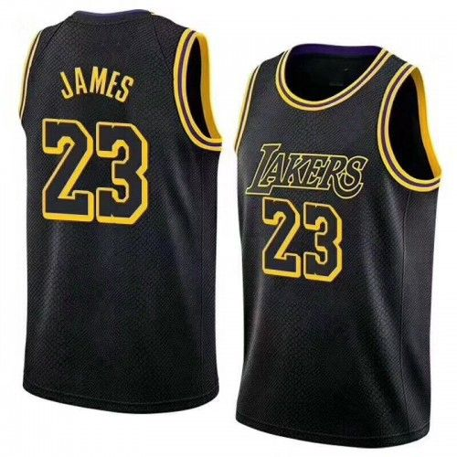 73df12aba Buy NEW LOS ANGELES LAKERS LEBRON JAMES JERSEY  23 BASKETBALL JERSEY  EMBROIDERY 2018 - CUSTOM WITH YOUR NAME