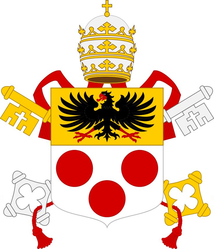 Coat of arms for Pope Pius XI